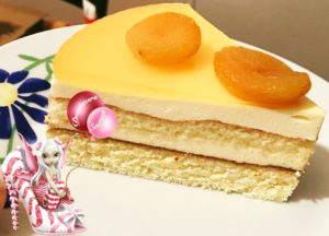 Entremet, Biscuit Cuillère, Mousse Clementine, Sirop Grand-Marnier®, Grand-Marnier®, Clémentine